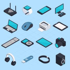 hardware de entrada e hardware de saída